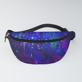 TREES MOON AND SHOOTING STARS Fanny Pack