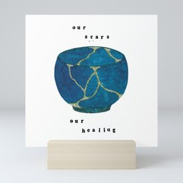 Our Scars Our Healing Kintsugi Mini Art Print