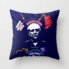 The Fashion Teacher Throw Pillow