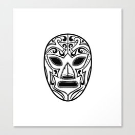 Mexican Wrestling Mask Canvas Print