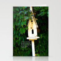verse Stationery Cards featuring Birdhouse Verse by 3 Chics Couture