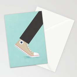 Awful Lot of Running – Natural  Stationery Cards