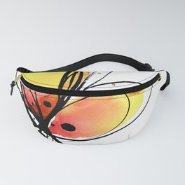 Ecstasy Bloom No.8 by Kathy Morton Stanion Fanny Pack