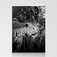 leopard Stationery Cards featuring Leopard by BethWold