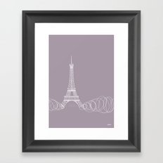 Paris by Friztin Framed Art Print