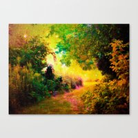 heaven Canvas Prints featuring HEAVEN by 2sweet4words Designs