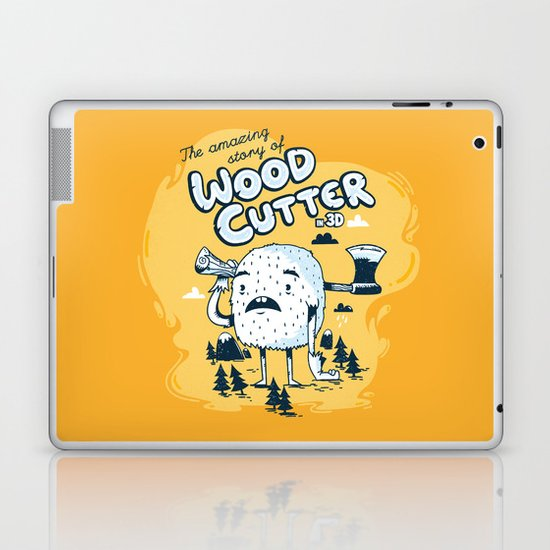 The WoodCutter Laptop & iPad Skin