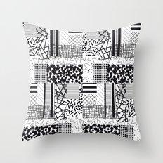 monochrome forover Throw Pillow