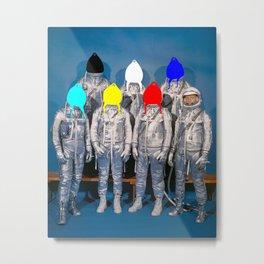 Astronauts Metal Print