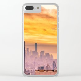 New York . Clear iPhone Case