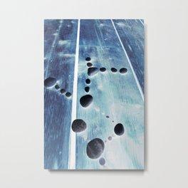 Blue Glow Metal Print