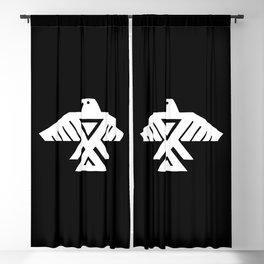 Thunderbird flag - Inverse edition version Blackout Curtain