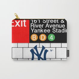 NYC Yankees Subway Carry-All Pouch