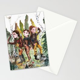 Sarmatian sisters Stationery Cards