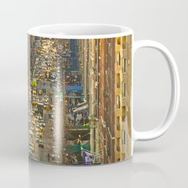 Fifth Avenue NYC from above Coffee Mug