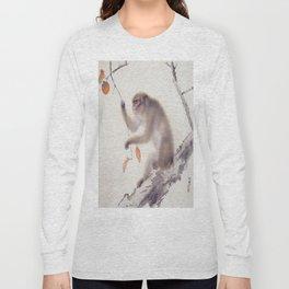 Monkey Vector After Hashimoto Kansetsu Long Sleeve T-shirt