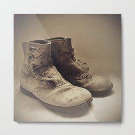 OLD SOLES Metal Print