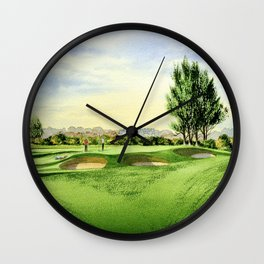 Carnoustie Golf Course Scotland 13th Green Wall Clock