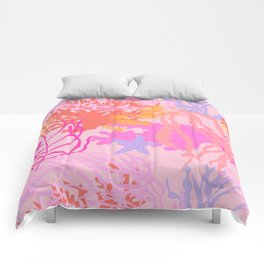 Coral Reef in Pink Comforters