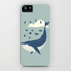 Fly in the sea iPhone SE Slim Case