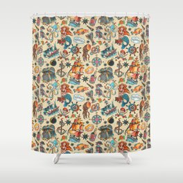 Ship Ahoy! Shower Curtain