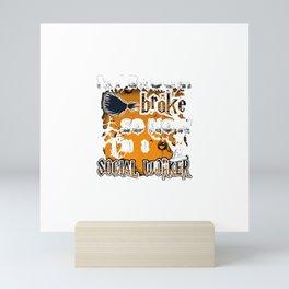 SOCIAL WORKER Mini Art Print