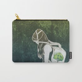 The Last Breath on Earth(SAVE THE FOREST)  Carry-All Pouch