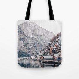 VILLAGE - COAST - MOUNTAINS - SNOW - PHOTOGRAPHY Tote Bag