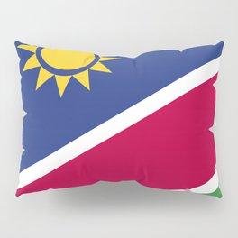 Namibia flag emblem Pillow Sham