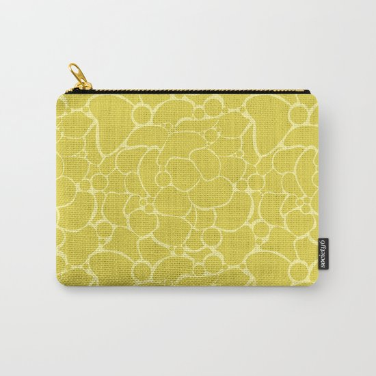Yellow creative abstract pattern . Carry-All Pouch