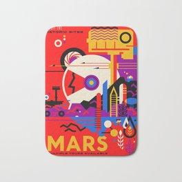 Mars Tour : Galaxy Space Bath Mat