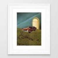 doors Framed Art Prints featuring doors by Jesse Treece