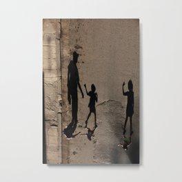 Shadows are alive Metal Print