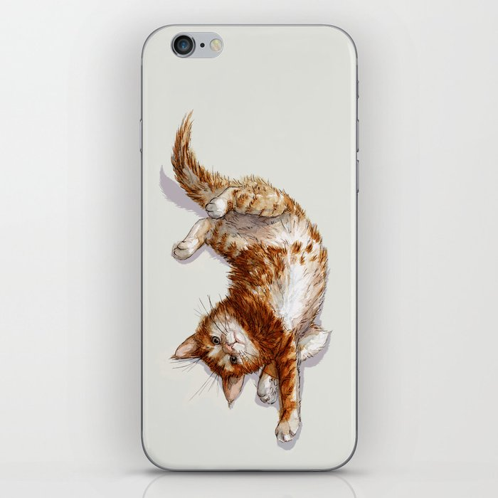 Ginger Kitten A062 iPhone Skin