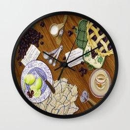 """Pie Maker"" Wall Clock"