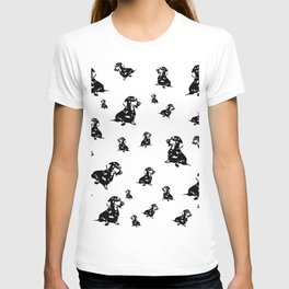 Dachshund Dog, Wiener Dog, Sausage Dog, Doxie, Daxie, T-shirt