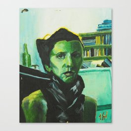 The Russian Poet Canvas Print