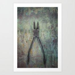 Pliers II Art Print