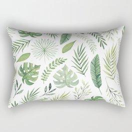 Leaves 8 Rectangular Pillow
