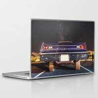 muscle Laptop & iPad Skins featuring Milky Way Muscle by Shaun Lowe