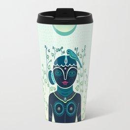 Indian woman Travel Mug