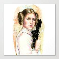 Princess and General Canvas Print