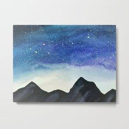 Celestial Mountains Metal Print