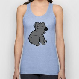 The amusing koala Unisex Tank Top