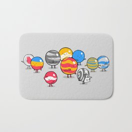The Lost Marbles Bath Mat