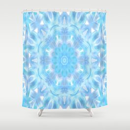 Soft Shades of Color Kaleidoscope Shower Curtain