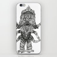 yeti iPhone & iPod Skins featuring Yeti by Guice Mann