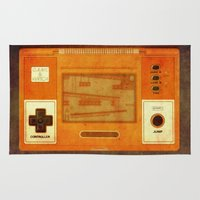 gaming Area & Throw Rugs featuring The Age of Gaming by lev man