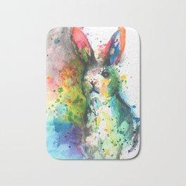 Bunny Splash Bath Mat