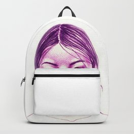 Purple Girl Backpack